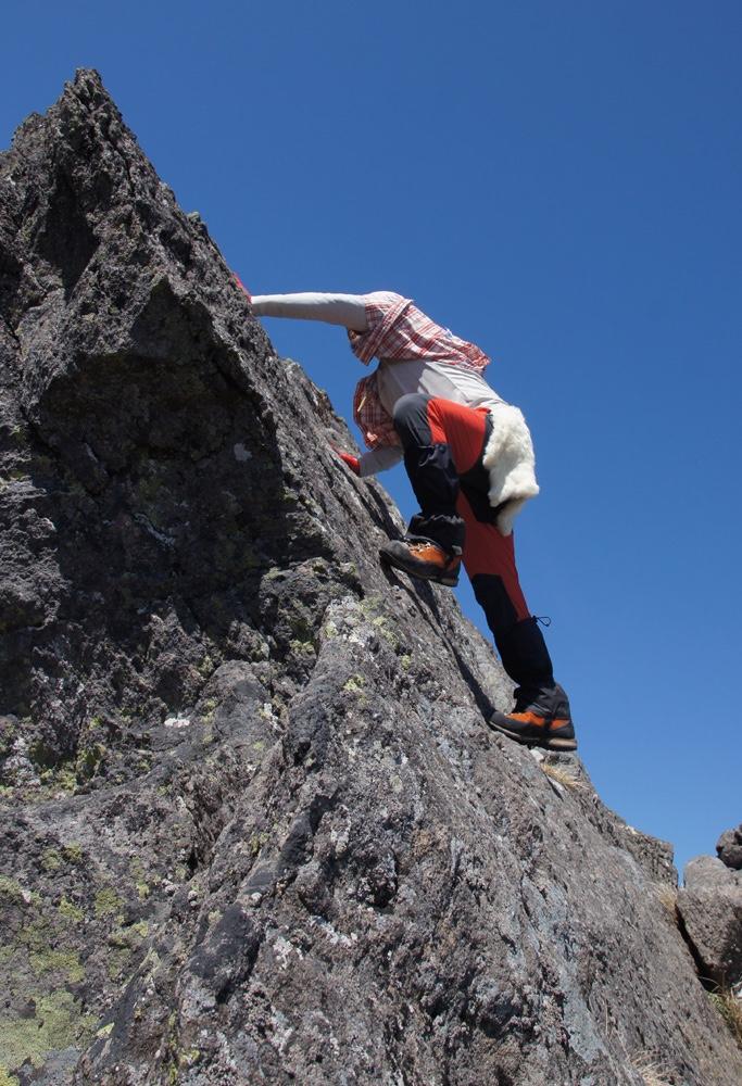 天狗岳登山写真2